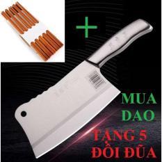 [MUA 1 TẶNG 5] DAO CHẶT XƯƠNG SLICE KNIFE INOX HÀNG NHẬP SIÊU BÉN