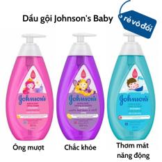 Dầu gội Johnson's Baby Óng mượt/ Chắc khỏe cho bé gái/ Thơm mát năng động cho bé trai – Hàng công ty