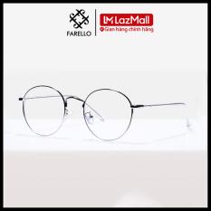 Gọng kính cận FARELLO chất liệu kim loại phụ kiện thời trang nam nữ 9901 nhiều màu