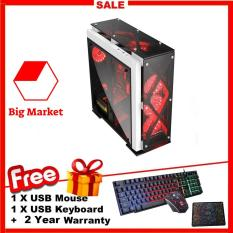 PC Game Khủng (Core i5 3470, R 12GB, HDD 4TB, Card VGA RờiGTX750ti 2GB) BMK Gaming + Quà Tặng