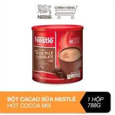 Bột cacao sữa Nestlé Hot Cocoa Mix lon giấy 788g