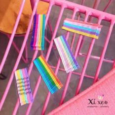 Set 50 Chiếc Kẹp Tăm Bảy Màu