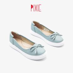 Slipon Nơ Số 8 Đế Siêu Nhẹ Pixie X385