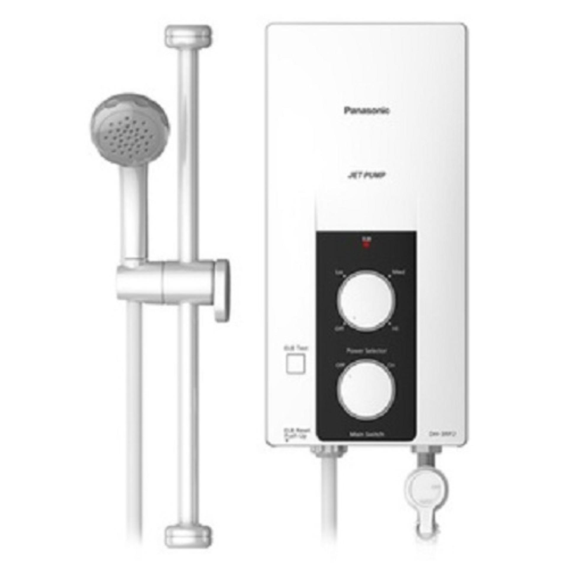 Máy nước nóng có bơm Panasonic DH-3RP2VK – Cầu dao chống rò điện ELCB, Cảm biến nhiệt độ, lưu lượng nước thông minh ngăn chặn tình trạng cháy nổ, Vỏ máy chống nước, bụi theo chuẩn IP25 giúp bảo vệ linh kiện bên