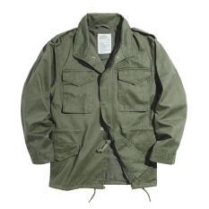 Vô Danh Thiết Kế Độc Quyền Kiểu Mỹ Phong Cách Retro M65 Lĩnh Vực Áo Jacket Ami Ka Ki Áo Gió Khắc Đa Trang Phục Công Sở Áo Khoác Nam