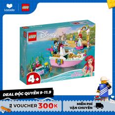 LEGO DISNEY PRINCESS 43191 Du Thuyền Của Nàng Tiên Cá ( 114 Chi tiết)