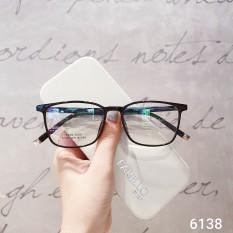 Kính Cận Nam Nữ 6138-Gọng Kính Mắt Vuông- Gọng Kính Cận Đẹp-Gọng Kính Cận Unisex-Gọng Kính Thời Trang-Lily Eyewear kèm quà