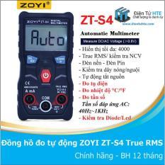 Đồng hồ đo tự động hoàn toàn ZOYI ZT-S4 True RMS — ZT-S1 version 2019