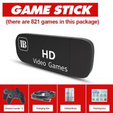Máy Chơi Game Cầm Tay Game Stick HDMI, Tay Cầm Không Dây 2 Người Chơi, Có 821 Games, Gắn Thẻ Nhớ Mở Rộng 64G, game stick mini kết nối tivi, máy điện tử 4 nút cầm tay, máy chơi game tuổi thơ cổ điển, game stick 2 player CuuLongstore
