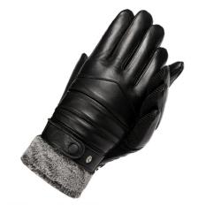 Găng tay nam – Găng tay da nam phượt bàn tay chống trượt – Găng tay đi xe máy cảm ứng điện thoại – Bao tay da Canashop