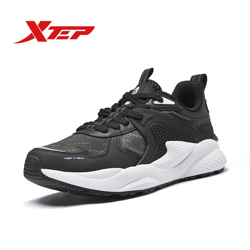 [Tặng Áo Thun] Xtep Giày Thể Thao Nam Sneaker Thoải mái 980119320296