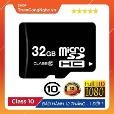 Thẻ nhớ Micro SD 32gb/16gb class 10 tốc độ cao (đen) – bảo hành 12 tháng cam kết hàng đúng mô tả chất lượng đảm bảo an toàn đến sức khỏe người sử dụng đa dạng mẫu mã
