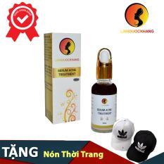 Serum trị mụn sẹo rỗ Linh Dược Khang ( 30ML) + Tặng nón lưỡi trai thời trang A di dassss ( Màu ngẫu nhiên)