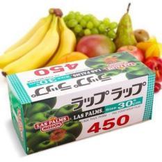 Màng bọc đồ ăn,Màng bọc thực phẩm Las Palms 450 tiện lợi Công Nghệ Nhật Bản ( Size 30cm x 450 Vòng )