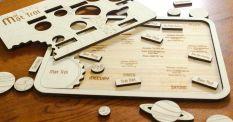 Đồ chơi gỗ, tô màu hệ mặt trời, quà tặng cho bé yêu khoa học