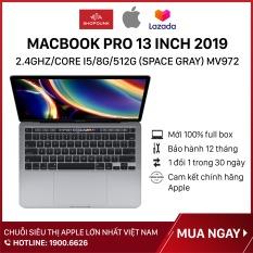 Laptop Macbook Pro 13 inch 2019 2.4GHz/core i5/8G/512G (Space Gray) MV972, Hàng chính hãng Apple, mới 100%, nguyên seal – Shopdunk