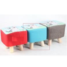 Ghế đôn sofa chân gỗ