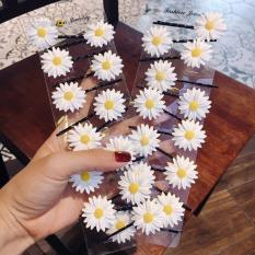Kẹp tóc hoa cúc hot 2019- [ 4 cái -12k]