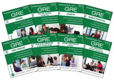 Manhattan Prep GRE Set of 8 Strategy Guides (Manhattan Prep GRE Strategy Guides) Fourth Edition