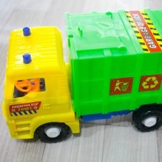 Xe đồ chơi giá rẻ, xe chở bê tông, xe chở rác có dây thiều