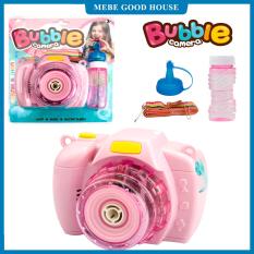 Đồ chơi máy ảnh bắn ra bong bóng xà phòng, món quà đặc biệt giành cho bé