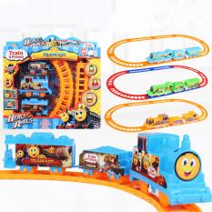 Đồ chơi đường ray xe lửa cho bé – đồ chơi trẻ em mô hình tàu hỏa (giao màu ngẫu nhiên)