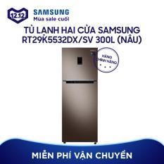 Tủ lạnh hai cửa Samsung RT29K5532DX/SV 300L (Nâu)