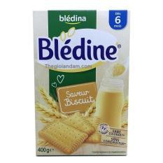 Bột Lắc Sữa BLEDINA Vị Bánh Quy 6m+