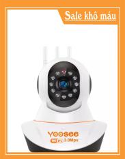 Camera iP Yoosee 3 Râu 3.0M FullHD- Bản 2020 Chuẩn Quốc Tế
