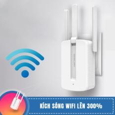 [FREESHIP⚡️]Bộ Kích Sóng Wifi Mercury 3 râu MW310RE tốc độ 300 Mbps không dây xuyên tường, Cục kích sóng wifi, Thiết bị kích sóng wifi