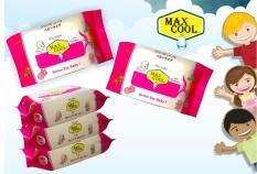 4 gói Max Cool 30 tờ, hương hoa Lài (màu ngẫu nhiên)