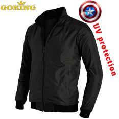 Áo khoác gió chống tia UV, thương hiệu GOKING, ngoài vải dù, trong lót vải cách nhiệt. 5 công dụng. Áo khoác cặp đôi cho nam và nữ