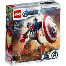 LEGO SUPERHEROES Chiến Giáp Captain America 76168