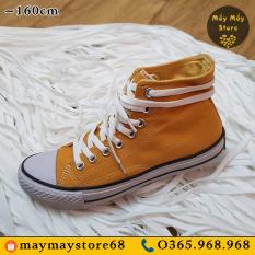 Dây Giày Dẹt Màu Trắng Đầu Nhựa ~1m6 (Dùng cho giày cổ cao)