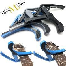 Capo Đàn Acoustic Guitar, Ukulele, Electric Ghita TMC-01 (Kẹp tăng tông cho Ghi-ta Điện Solo, Uku, Folk Modern dây sắt, clamp for Banjo, Mandolin, Bass – 3 Màu)