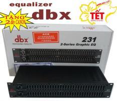 lọc xì equalizer cao cấp DBX 231 – TẶNG 2 dây CANON
