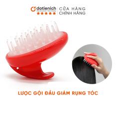 Lược gội đầu silicon giảm rụng tóc và làm sạch da đầu tiện dụng – dotienich