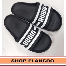 (phom lớn, giảm 1 size khi đặt) Dép đúc quai ngang nam 5 màu cá tính thời trang siêu nhẹ siêu bền FLANCOO TA219