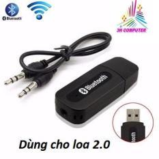 USB Bluetooth 2.0 cho loa PT163 Thiết kết nhỏ gọn Nhận tín hiệu tốt Dễ dàng kết nối Tương thích tốt