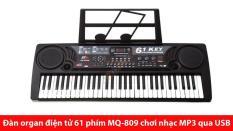 Bộ Đàn Organ 61 Phím MQ-6106 Có Micro Dành Cho Trẻ Em- Đ61P169 – Qmart