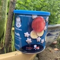 [HCM]Bánh ăn dặm Gerber vị 2 Chuối táo dành cho trẻ từ 8 tháng tuổi trở lên-DucPhatShop