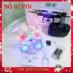 [Bộ 02 Pin] Máy bay chụp ảnh Flycam TXD-8S Wifi Camera 2.0Mpx – Full HD 720p, Thời gian bay 23 Phút, Khoảng cách 200m Truyền ảnh trực tiếp về điện thoại x