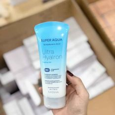 [Mẫu mới] Tẩy da chết Missha Super Aqua Ultra Hyalron Peeling Gel 100ml