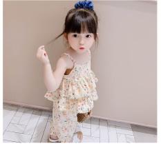 Set áo 2 dây quần dài cực xinh cho bé gái – SET-BG-2DQD