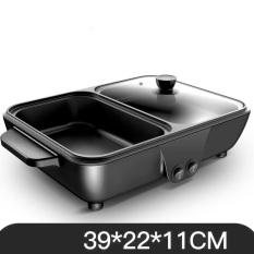 [ Hàng Hot vừa cập bến !!! ] Bếp lẩu nướng 2 trong 1, bếp nướng lẩu điện đa năng – Bếp Nướng Lẩu Tiện Dụng (2IN1) , nhỏ gọn tiện lợi đa chức năng ( Giao màu ngẫu nhiên )