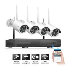 Bộ Đầu Ghi NVR Wifi Kit 5G + 4 Camera WIFI 720P Chống Nước (Chưa kèm ổ cứng)