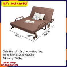 Giường gấp nâng đầu, Giường gấp xếp nâng đầu KT 1m2*1m9