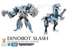 DINOBOT SLASH TLK-04 / Robot 14cm lắp ráp thành KHỦNG LONG – TRANSFORMERS The Last Knight