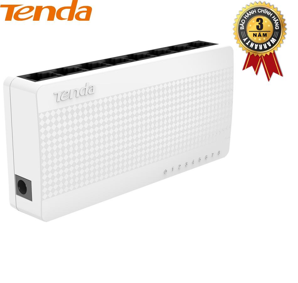 Thiết bị Switch TENDA S105 – Desktop 5 cổng (Trắng) – Hãng Phân phối chính thức