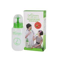[Tặng thêm quà] Bình rửa mũi Dr Green và 40 gói muối nha đam
